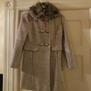 534d90a88f5a Monsoon Jackets & Coats | Faux Fur Leopard Print Coat Size 78 | Poshmark